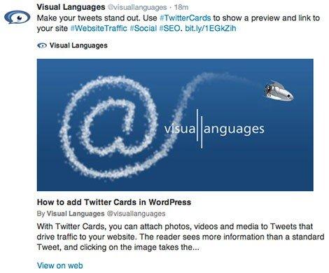 Twitter Cards in WordPress